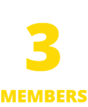 Picture of Family Membership for 3 Members | 12 Months